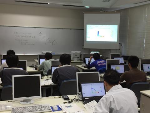 レポートNo.031:島根県-3DCAD/CAE講習