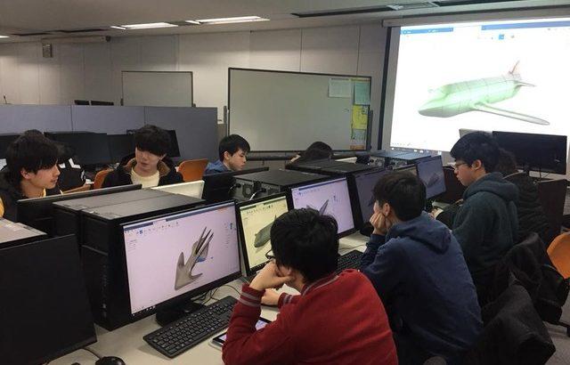 レポートNo.051:東北電子専門学校ー機械CAD設計科ー講習