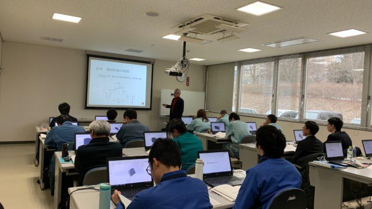 レポートNo.084:SOLIDWORKS実践セミナー