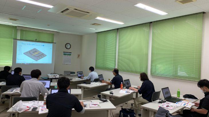 レポートNo.098:花巻市起業化支援センター3DCAD/CAM講習会