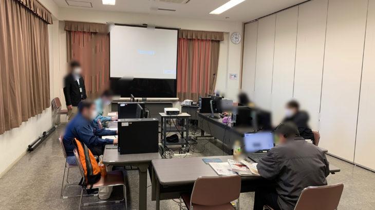 レポートNo.106:釜石・大槌-3Dモデリングマスター講習会