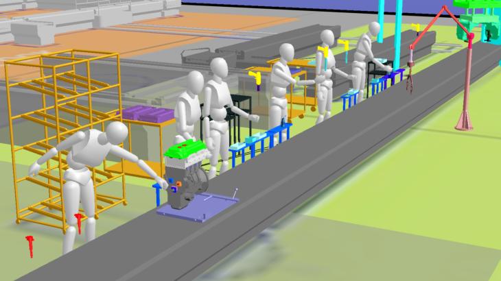 生産ラインシミュレーションソフトウェア「VPS GP4」の導入 ~岩手県内企業への生産性向上に資する支援、人材育成をスタート